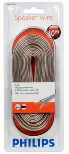 Philips câble enceinte 2 X 0,75 mm 10m swa2105w