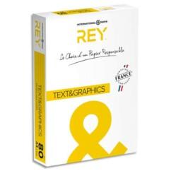 Ramette de papier A4 Rey ''Text & Graphics'' 80 g/m².