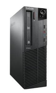 ordinateur équipé reconditionné Lenovo Thinkcentre M91P 7033 avec intel i5 2400 8go ram windows 10 home