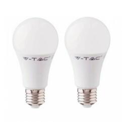 Deux ampoules LED V-Tac modèles VT-212 de 11 W.