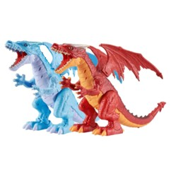 Lot de 2 dragons robotisés Robo Alive.