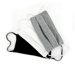 3 masques de protection en coton