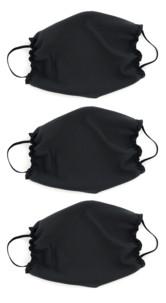 Pack de 3 masques en polyester Spandex