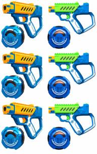 3 sets de laser game Battle OPS Lazer M.A.D