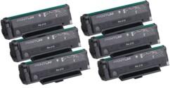 Lot de 6 toners pour imprimante laser PA-210E Pantum.