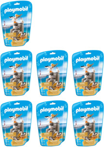 14 pélicans et 14 bébés pélicans n°9070