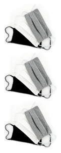 9 masques de protection en coton