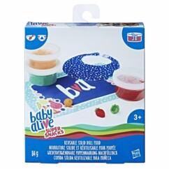 Pack avec accessoires pour poupée Baby Alive Miam miam les bonnes pâtes.