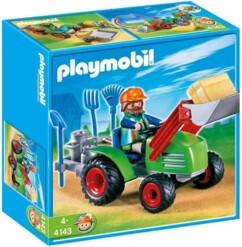 Boîte Playmobil n°4143 : Agriculteur avec tracteur.