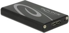 Boîtier USB 3.0 pour disque SSD format mSATA DeLock