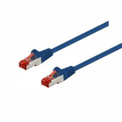 Câble réseau RJ45 Cat. 6 S/FTP - 3 m - Bleu