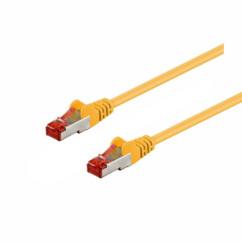 Câble réseau RJ45 Cat. 6 S/FTP - 3 m - Jaune