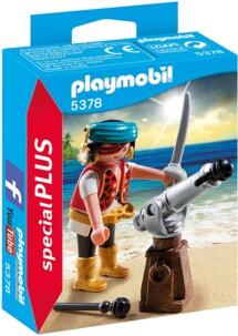 Canonnier des pirates Playmobil special PLUS n°5378.