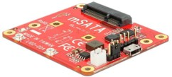 Carte d'extension pour Raspberry Pi - mSATA 6 Gbps