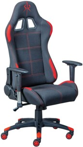 Chaise de bureau Gaming RED Inter Link.