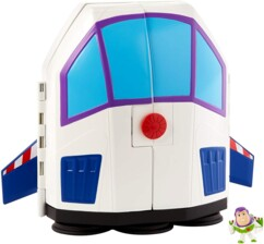 Coffret carnaval aventure Buzz l'Éclair Toy Story avec une figurine exclusive.