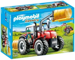 Grand tracteur agricole Playmobil Country n°6867.
