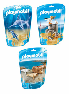Jouet Playmobil collection Le Zoo - 3 packs