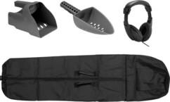 Kit d'accessoires pour détecteur de métaux.
