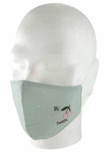 Masque de protection en coton pour enfant - Cerises
