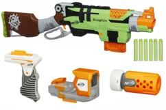Nerf Zombie Strike : SlingFire Blaster avec accessoires N-Strike Modulus