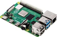 Raspberry Pi 4 modèle B 8 Go.