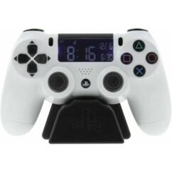 Réveil numérique Manette PlayStation 4 blanche.