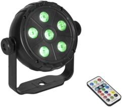 Spot LED PK-3 Eurolite avec télécommande infrarouge.