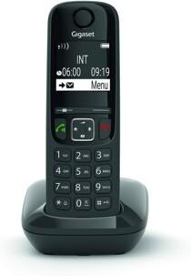 Téléphone fixe AS690 Solo - Sans répondeur - Noir