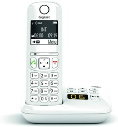 Téléphone fixe AS690A Solo - Avec répondeur - Blanc