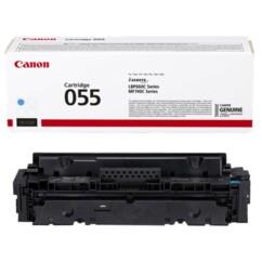 Toner original Canon 055 cyan.