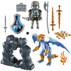 Valisette Chevaliers du dragon Playmobil Knights.