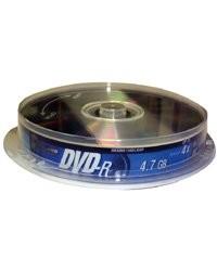 10 DVD-R TX - 4.7 Go