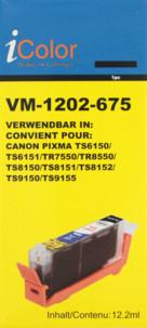 Cartouche compatible Canon CLI-581BK XXL - Noir