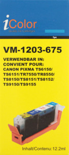 Cartouche compatible Canon CLI-581C XXL - Cyan
