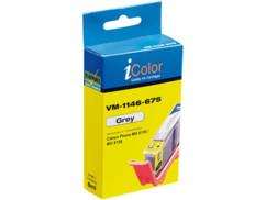 Cartouche I Color compatible Canon gris avec puce