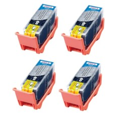 Quatre cartouches compatibles Canon PGI-525BK par iColor.