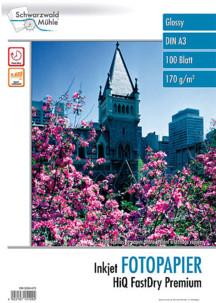100 feuilles papier photo brillant A3 - 170 G