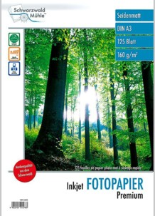 125 feuilles papier photo mat A3 - 160 G