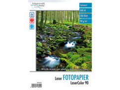 "200 feuilles de papier photo ""LaserColor 90"" 90 g/m² A4"