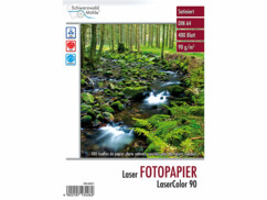 "400 feuilles de papier photo ""LaserColor 90"" 90 g/m² A4"