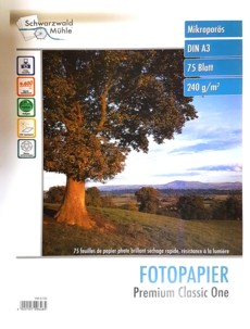 75 feuilles papier photo premium brillant A3 - 240 G