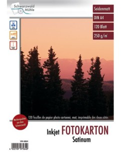 120 feuilles papier photo double face mat A4 - 250 G