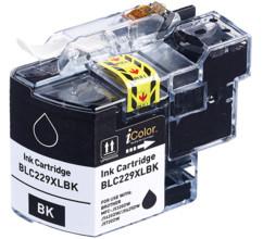 Cartouche iColor pour Brother (remplace LC-229XL BK) - Noir
