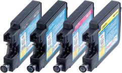 Pack 4 Réservoirs Cliprint I Color pour LC1240 (N/C/M/J)
