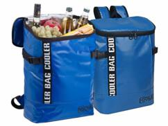 Deux sacs à dos isothermes en toile de bâche Xcase.