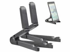 Deux supports réglables pour tablette ou liseuse numérique.