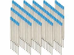 Lot de 50 recharge d'encre bleue pour stylo bille épaisseur B.
