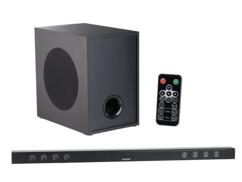 barre de son 180w bluetooth avec subwoofer externe et son effet 3d auvisio pour tv et hifi