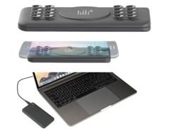 Batterie d'appoint PB-500.qi  USB ultraplate compatible Qi 5000 mAhjusqu'à 2,1 A/ 10,5W